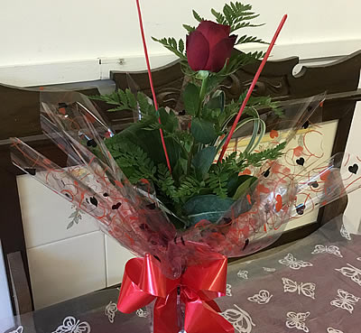 Valentines day   bouquets - New Forest