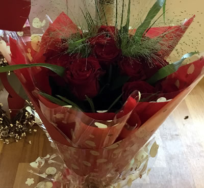 Valentines day Floral bouquets, New Forest